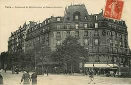 Dép 75 - Arrondissement 20 - Paris - Boulevard De Ménilmontant Et Avenue Gambetta - état - Arrondissement: 20