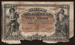 100 Pesos, 1891 - Cuba