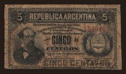 5 Centavos, 1884 - Argentina