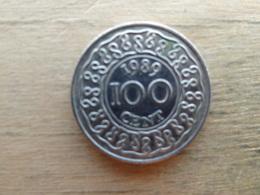 Suriname  100 Cents  1989  Km 23 - Surinam 1975 - ...
