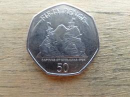 Gibraltar  50  Pence  2009  Km 1089 - Gibraltar