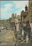 Corfe Castle, Dorset, 1977 - J Arthur Dixon Postcard - England