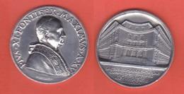 Medaglia Vaticano Papa Pio XII  Sede Curia Romana Anno XV - 1936 - Gettoni E Medaglie