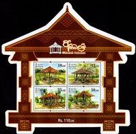 Sri Lanka - 2018 - Ambalam Of Sri Lanka - Buddhist Pilgrims Rests - Mint Souvenir Sheet - Sri Lanka (Ceylon) (1948-...)