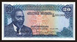 20 Shilingi, 1978 - Kenya