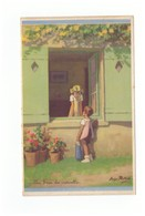 Illustrateur Illustration Georges Redon Enfants Un Brin De Causette - Redon