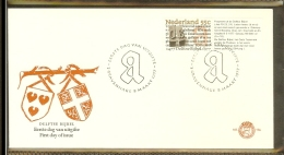 1977 - Netherlands FDC E156 Blanco - 500 Years Bible Of Delft [HR066] - FDC