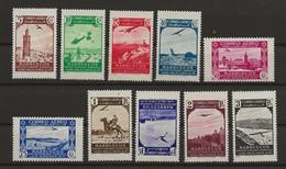 R03.G15/ MARRUECOS ESPAÑOL 186/95 **, MUY BONITA SERIE - Morocco (1956-...)