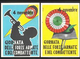 1957 GIORNATA DELLE FORZE ARMATE E DEL COMBATTENTE ILLUSTRATORE CAROLI - Patriottisch