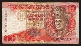 10 Ringgit, 1989 - Malaysia