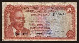 5 Shillings, 1977 - Kenya