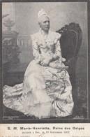 BELGIQUE / BELGIE / MARIE HENRIETTE 1836 - 1902 - Familles Royales