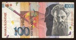 100 Tolarjev, 1992 - Slovenia