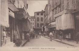 La Ciotat : Rue De L'Horloge  (neuve) - La Ciotat