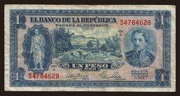 1 Peso, 1953 - Colombia