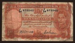 10 Shillings, 1942 - Australia