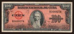 100 Pesos, 1959 - Cuba
