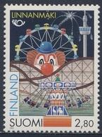 Finland Suomi 1995 Mi 1302 ** Linnanmaki, Amusement Park, Helsinki / Vergnügungspark Linnanmäki, Clown - Andere
