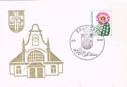 29155. Tarjeta ERKNER (Alemania DDR) 1984. Bahnhof Erkner. Station - Cartas