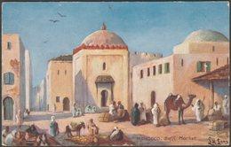 Saffi Market, Morocco, C.1910s - Tuck's Oilette Postcard - Morocco