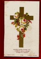 Image Pieuse Holy Card Ayons Toute Notre Vie L'amour De La Croix ... Ed Dopter N° 26 - Images Religieuses