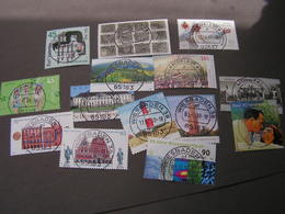 BRD Lot 2010 Rundstempel Wiesbaden - Briefmarken