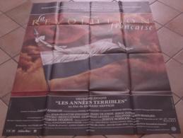 AFFICHE CINEMA ORIGINALE FILM LA REVOLUTION FRANCAISE Les Années Terribles HEFFRON BRANDAUER CLUZET 1989 TBE - Affiches & Posters