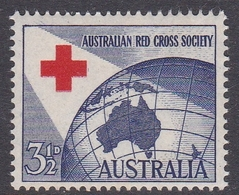 Australia ASC 307 1954 40th Anniversary Red Cross, Mint Never Hinged - Mint Stamps