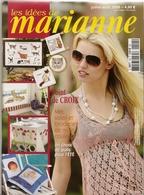 01 Les Idées De Marianne - Juillet/Août 2008 - Vintage - Point De Croix
