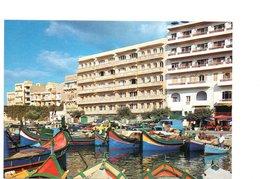 Retro Malta Gozo Fishing Harbor Uncirculated (55-15) - Malta