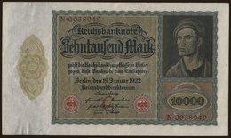 10.000 Mark, 1922 - [ 3] 1918-1933 : Weimar Republic