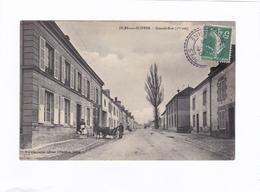 ( CPA : 14 X 9)  -  ISLES-sur-SUIPPES.  -  Grande-Rue  (1re Vue) - Frankrijk