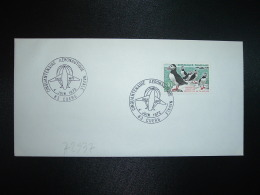 LETTRE TP MACAREUX 0,30 OBL.4 JUIN 1972 83 CUERS CINQUANTENAIRE AERONAUTIQUE NAVALE - Altri (Aria)