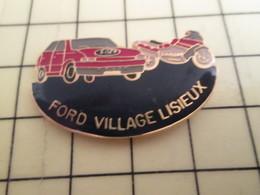 313f Pin's Pins / Beau Et Rare : Thème AUTOMOBILES / FORD VILLAGE LISIEUX AUTO ET MOTO (Ford ?) - Ford