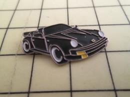 313f Pin's Pins / Beau Et Rare : Thème AUTOMOBILES / PORSCHE CABRIOLET DECAPOTABLE NOIRE - Porsche