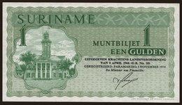 1 Gulden, 1974 - Surinam