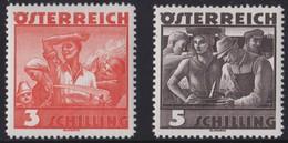 Osterreich    .   Yvert    .    482/483       .       **       .      Postfrisch   .    /    .     MNH - Ungebraucht