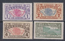 Réunion N° 56 / 58 + 62  XX  Partie De Série : Les 3 Valeurs Sans Charnière, TB - Ungebraucht