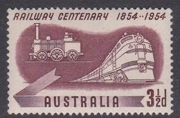 Australia ASC 309 1954 Centenary Railway, Mint Never Hinged - 1952-65 Elizabeth II : Pre-Decimals