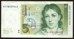 5 Mark, 1991 - [ 7] 1949-… : FRG - Fed. Rep. Of Germany