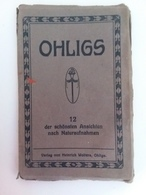 AK Ohligs( Solingen ) Verlag Von Heinrich Wolters (Bloc Souvenir) - Solingen