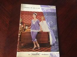 Rhodiatoce L'eleganza Che Non Si Vede In Nailon Rhodiatoce 1960 Hotel Due Torri - Pubblicitari