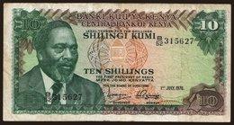10 Shilings, 1976 - Kenya