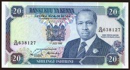20 Shilings, 1990 - Kenya