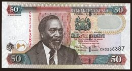 50 Shilings, 2008 - Kenya
