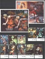J897 1994 SIERRA LEONE WALT DISNEY ART DONALD DUCK BIRTHDAY !!! 2BL+BIG SET MNH - Disney