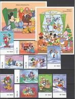 J899 SIERRA LEONE DISNEY MICKEY MOUSE & FRIENDS CHRISTMAS !!! 2BL+BIG SET MNH - Disney