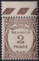 France  .   Yvert   .    Taxe  61        .    *     .    Neuf Avec Charniere   .    /    .   Mint-hinged - 1859-1955 Mint/hinged
