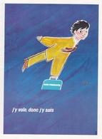 Publicité AIR FRANCE SAVIGNAC  1970 - Pubblicitari