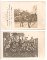 MILITARIA - 111è Régiment : 2 Cartes Photos - Oorlog 1914-18